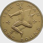 1978 Isle of Man £1 Coin