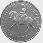 1977 Silver Jubilee Crown (UK)
