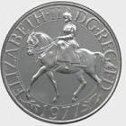 1977 Corona del jubileo de plata (Reino Unido)