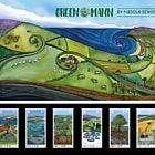 Green Mann Stamps