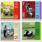 Isle of Man International Scooter Rally - (Set Mint)