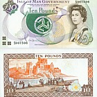 Isla de Man £ 10 Billete (Casa de la Moneda)
