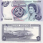 Isle of Man £ 1 Banknote (Casa de la Moneda)