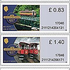 Manx Electric Railway 125th Anniversary - (Value Definitives Set)