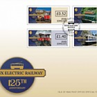 Manx Electric Railway 125th Anniversary - (Value Definitives FDC)