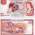 Isle of Man £20 Banknote (Mint)