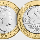 Mike Hailwood 40 Years £2 Coin