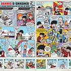 A Beano Christmas on the Isle of Man 2018 - (A Beano Christmas Comic Sheetlet)