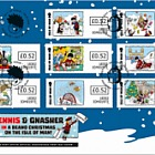 A Beano Christmas on the Isle of Man 2018 - (A Beano Christmas Self Adhesive First Day Cover)