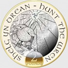 Hunt the Wren £2 Christmas Coin