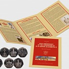 65th Anniversary of the Coronation of H M Queen Elizabeth II 50 pence Coin Set