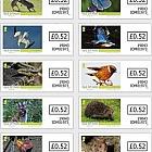 Isle of Man Wildlife - VVD Self Adhesive Set