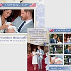 A New Royal Baby - M/S Mint