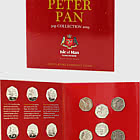Isle of Man Treasury Peter Pan Coin Pack - Circulating Quality