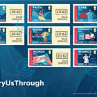PRE-ORDER - #CarryUsThrough - Self Adhesive Set FDC