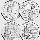 Peter Pan Part II Six 50p Coin Collection