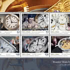 Master Watchmakers of the Isle of Man - Booklet Pane Mint