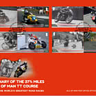 Centenary of the 37¾ miles Isle of Man TT Course