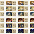 The Story of the Nativity - Self Adhesive Sheet - Mint