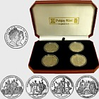 2012 Euro Football 4 Crown Set