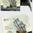 Mayflower 400 Brilliant Uncirculated £ 2 Coin Geschenkpaket