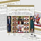 PRE - ORDER The Duke & Duchess of Cambridge 10th Wedding Anniversary Special Sheetlet