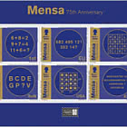 Mensa 75 - Booklet Pane - Mint