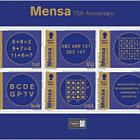 Mensa 75 - Booklet Pane - CTO