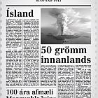 Morgunblaðið 100th Anniversary