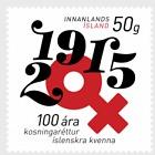 100 años de voto femenino