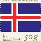 El Centenario de la bandera de Islandia