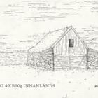 Edificios antiguos islandeses
