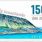 La ville de Ísafjörður 150e anniversaire