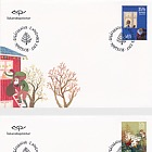 Christmas Stamps 2017 - (FDC Single Stamp)