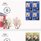 Christmas Stamps 2017 - (FDC Block of 4)
