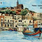 Malta - Iceland Joint Issue - (M/S CTO)