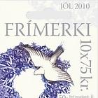 Les timbres de Noël 2010