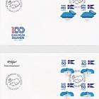 Centenary of Icelandic Independence and Sovereignty - (FDC Block of 4)