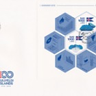 Centenary of Icelandic Independence and Sovereignty - (FDC Self Adhesive Stamp)