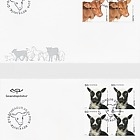The Young of Iceland's Domestic Animals II - (FDC Block of 4)