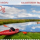 Tourist Stamps VII - (Kayaking)