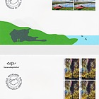 Tourist Stamps VII - (FDC Block of 4)
