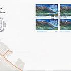 Siglufjordur 100th Anniversary - (FDC Block of 4)