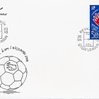 Iceland Qualifies for World Cup 2018 - (FDC Stamp)