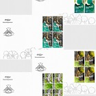 Icelandic Contemporary Design IX - Landscape Architecture - FDC Block of 4
