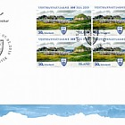 The Municipality of Vestmannaeyjar - 100th Anniversary - FDC Block of 4
