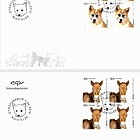 The Young of Iceland's Domestic Animals III - FDC Block of 4