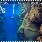 Tourist Stamps VIII - Diving Tours and Northern Lights