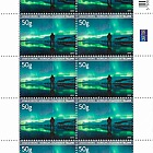 Tourist Stamps VIII - Northern Lights Sheetlet