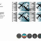 Aviation in Iceland - 100th Anniversary - FDC Block of 4
